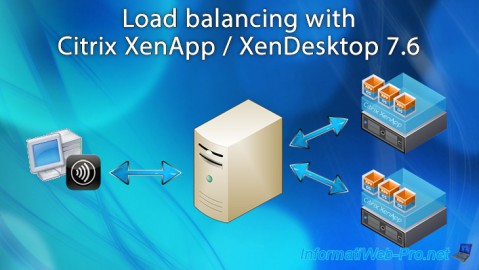 Citrix XenApp / XenDesktop 7.6 - Load balancing