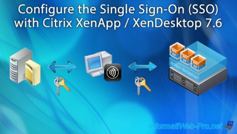 Citrix XenApp / XenDesktop 7.6 - Single Sign-On (SSO)