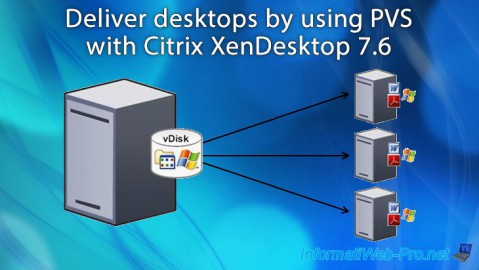 Deliver desktops by using PVS with Citrix XenDesktop 7.6