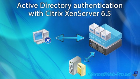 Citrix XenServer 6.5 - Active Directory authentication