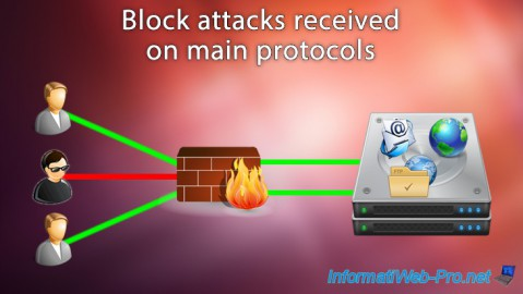 Block attacks received on main protocols (mail, web and FTP) on Debian / Ubuntu