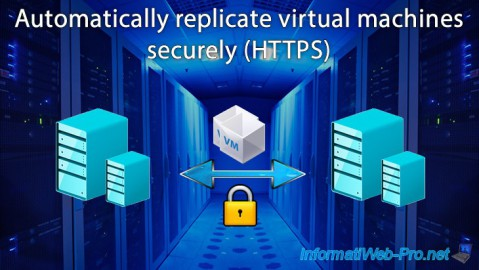 Hyper-V 3.0 (WS 2012 R2) - Automatically replicate virtual machines (securely)