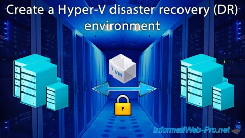 Hyper-V 3.0 (WS 2012 R2) - Disaster recovery (DR) with the Hyper-V cluster