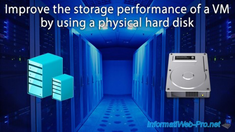 Hyper-V 3.0 (WS 2012 R2) - Improve the performance by using a physical hdd