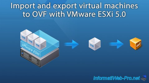 VMware ESXi 5 - Import and export virtual machines in OVF