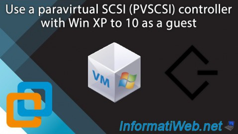 VMware Workstation 16 / 15.5 - Use a paravirtual SCSI (PVSCSI) controller