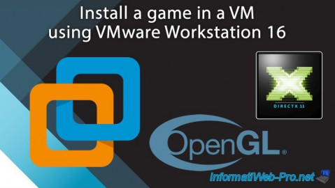 VMware Workstation 16 - Install a game in a VM