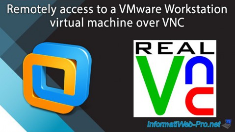 VMware Workstation - Remotely access to a VM over VNC