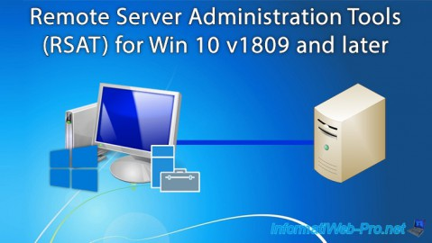 Windows Server - Remote Server Administration Tools (RSAT) for Win 10 v1809 and later