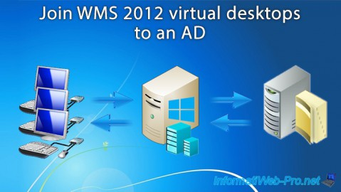 WMS 2012 - Join virtual desktops to an AD
