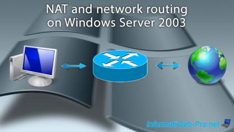 WS 2003 - NAT and network routing