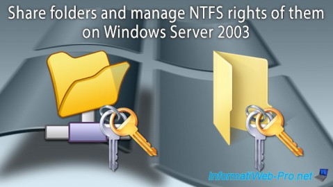 WS 2003 - Shared folders and NTFS rights