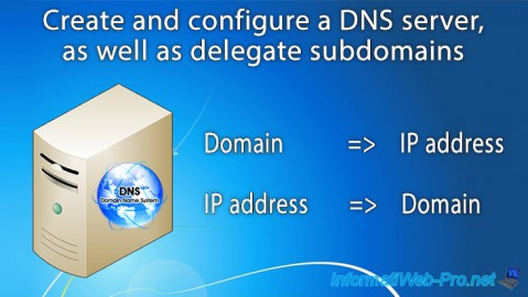WS 2012 / 2012 R2 - Create a DNS server and delegate subdomains