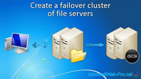WS 2012 / 2012 R2 - Create a failover cluster of file servers