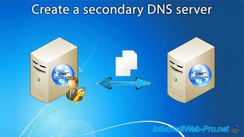 WS 2012 / 2012 R2 - Create a secondary DNS server