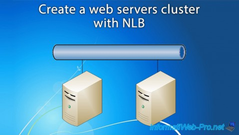 WS 2012 / 2012 R2 - Create a web servers cluster with NLB