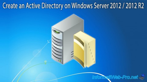 WS 2012 / 2012 R2 - Create an Active Directory