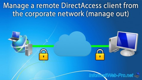 WS 2012 / 2012 R2 - DirectAccess - Manage a remote client (manage out)