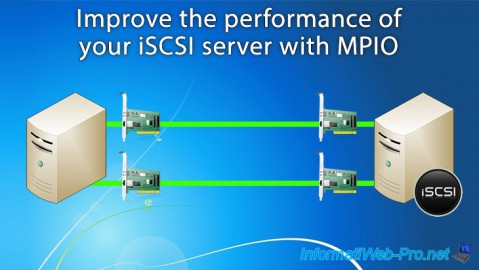 Improve the performance of your iSCSI server with MPIO (Multipath I/O) on Windows Server 2012 / 2012 R2